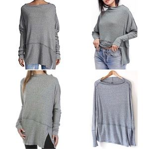 We The Free Londontown Thermal Top Tunic Ribbed